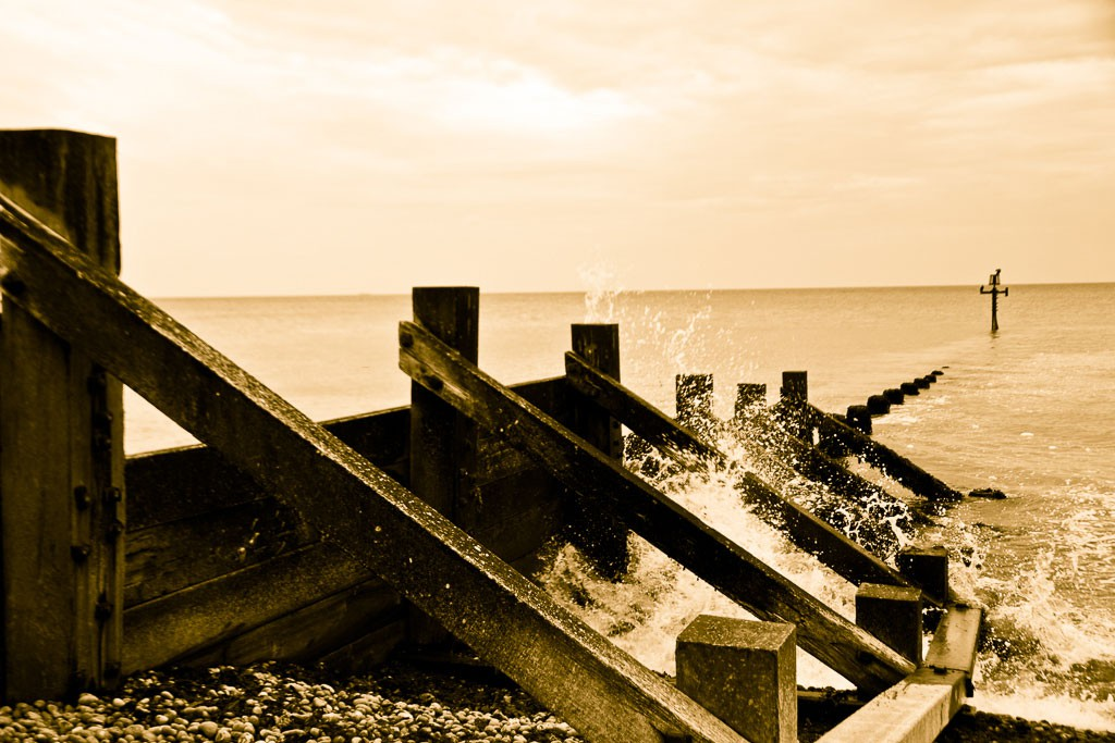 A sea wall